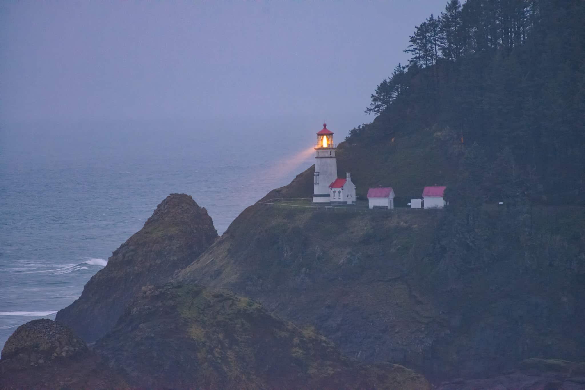 Heceta Head Lighthouse - Oregon's Pacific coast