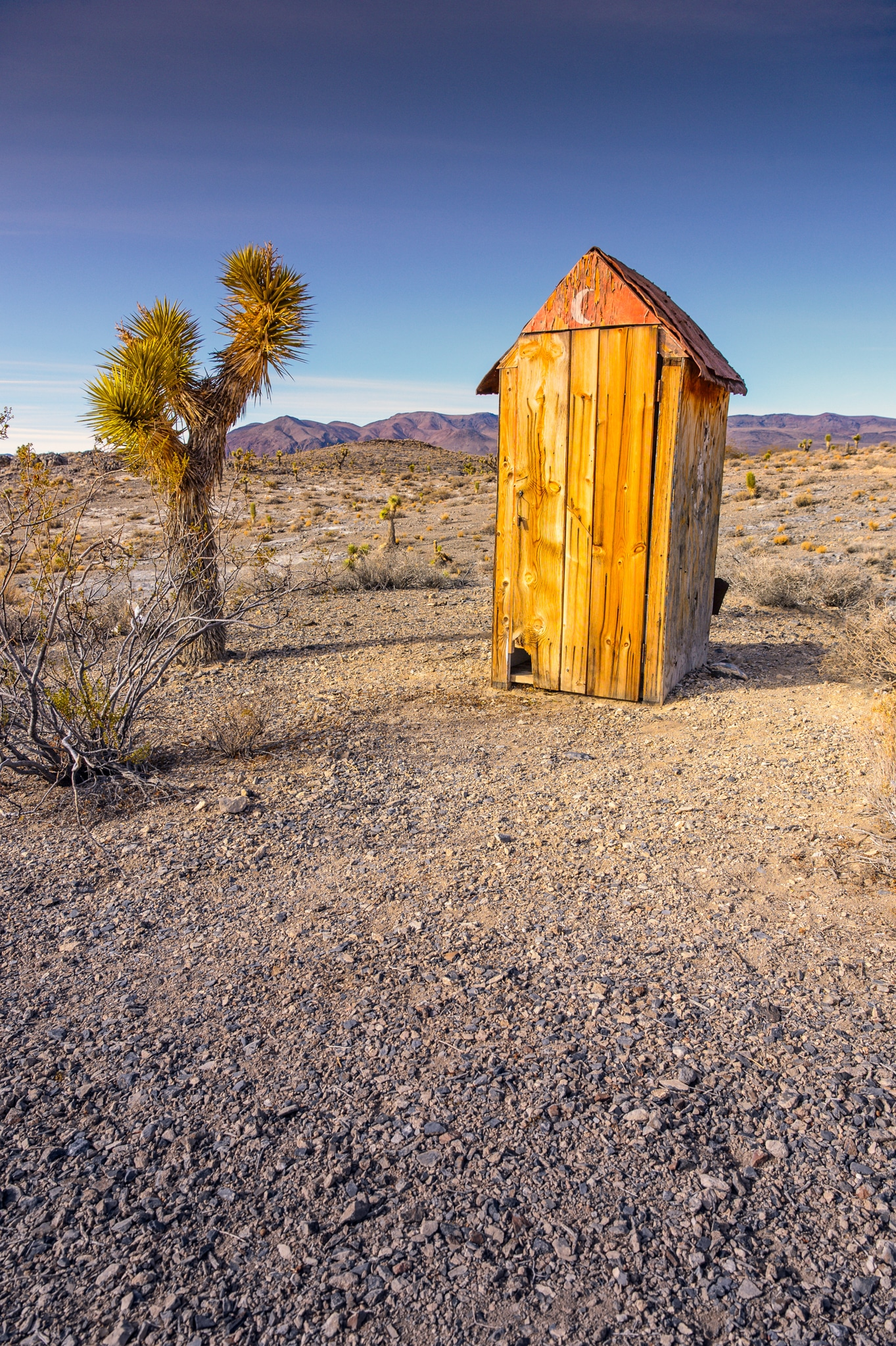 Boxcar Cabin Outhouse William Horton Photography