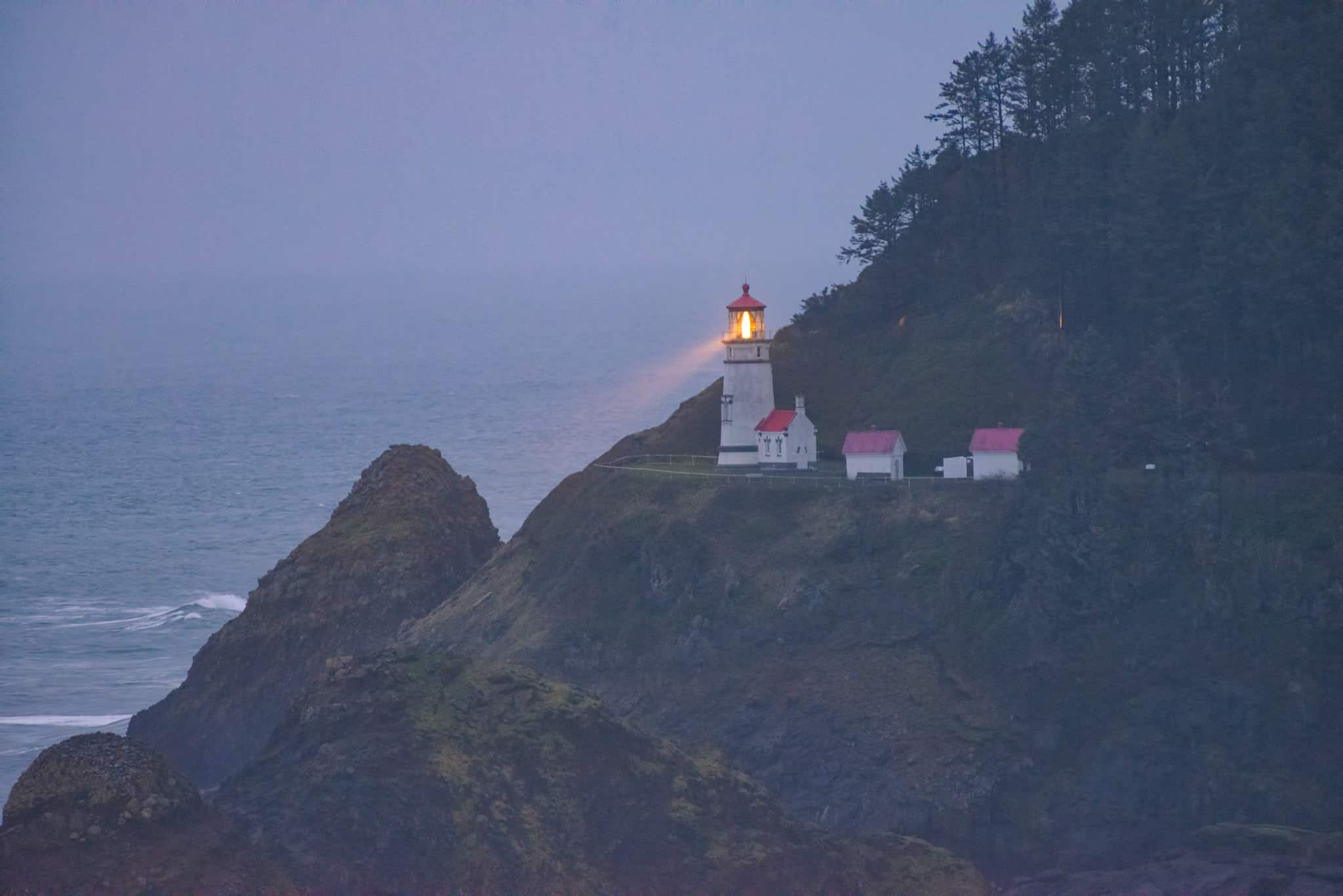 Heceta Head Lighthouse - Oregon's Pacific coast