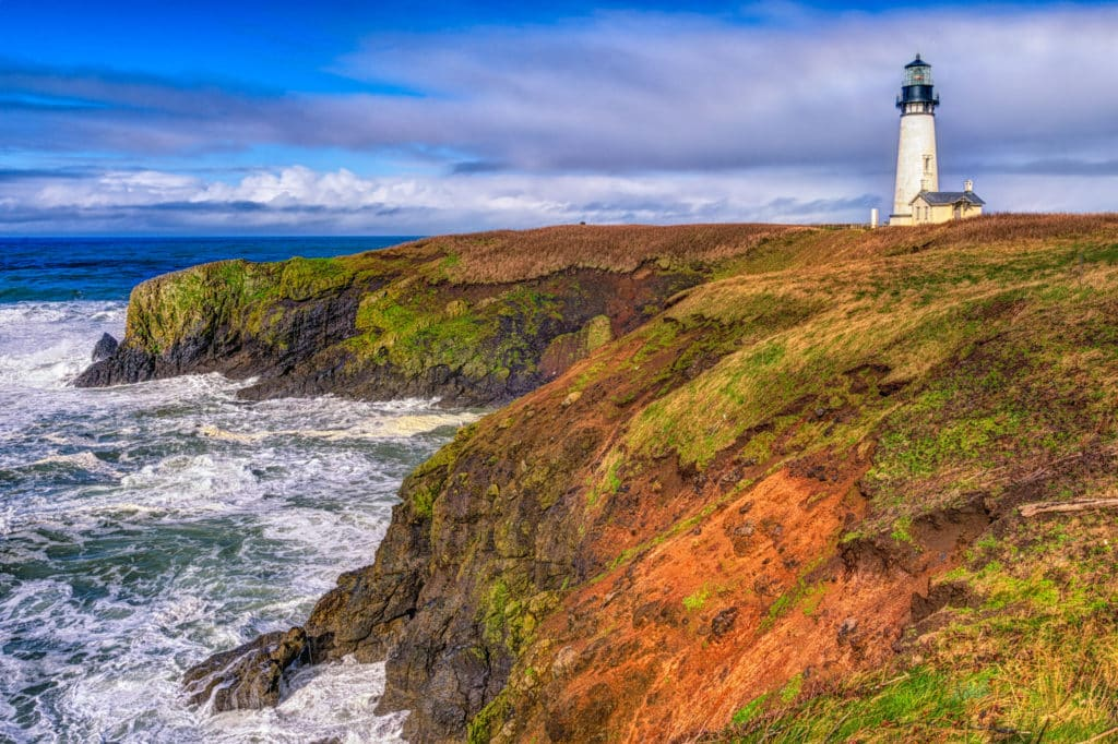 Yachina Head Lighthouse - Oregon's Pacific coast