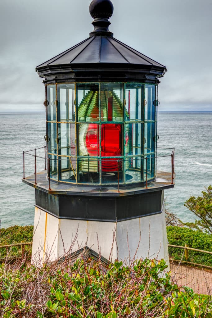 Cape Meares Lighthouse - Oregon's Pacific coast