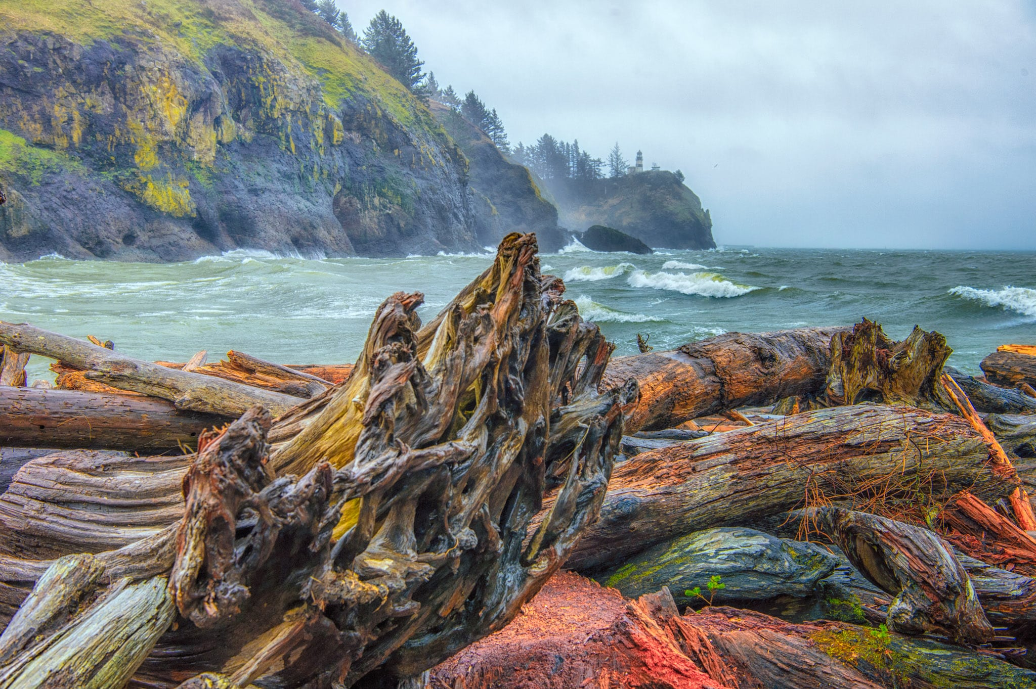 Cape Disappointment Lighthouse - Oregon's Pacific coast
