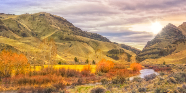Late Afternoon along the John Day River