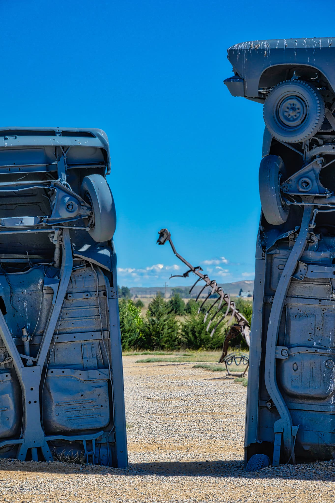 On the flat plains near Alliance, Nebraska, is a quirky roadside attraction called Carhenge. Built by Jim Reinders as a memorial to his father, it was dedicated at the June 1987 summer solstice.