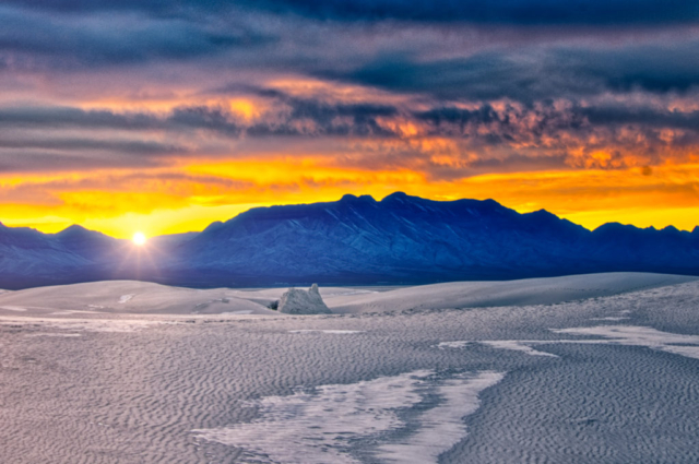 Photographs of White Sands National Monument in New Mexico ...