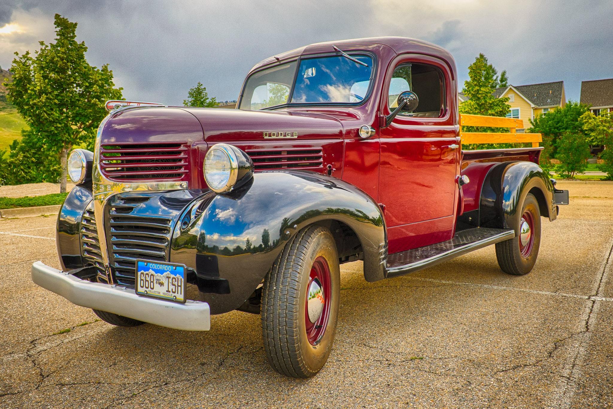 1945 Dodge Half-Ton Pickup Truck Article | William Horton