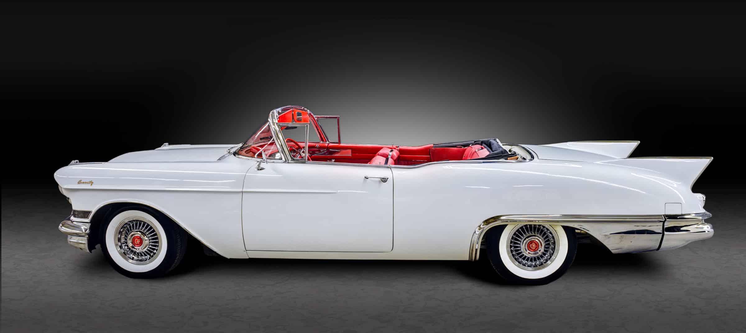 1957 Series 62 Eldorado Biarritz - White
