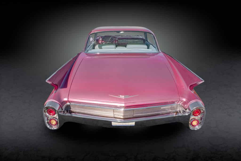 1960 Cadillac Coupe deVille - Pink