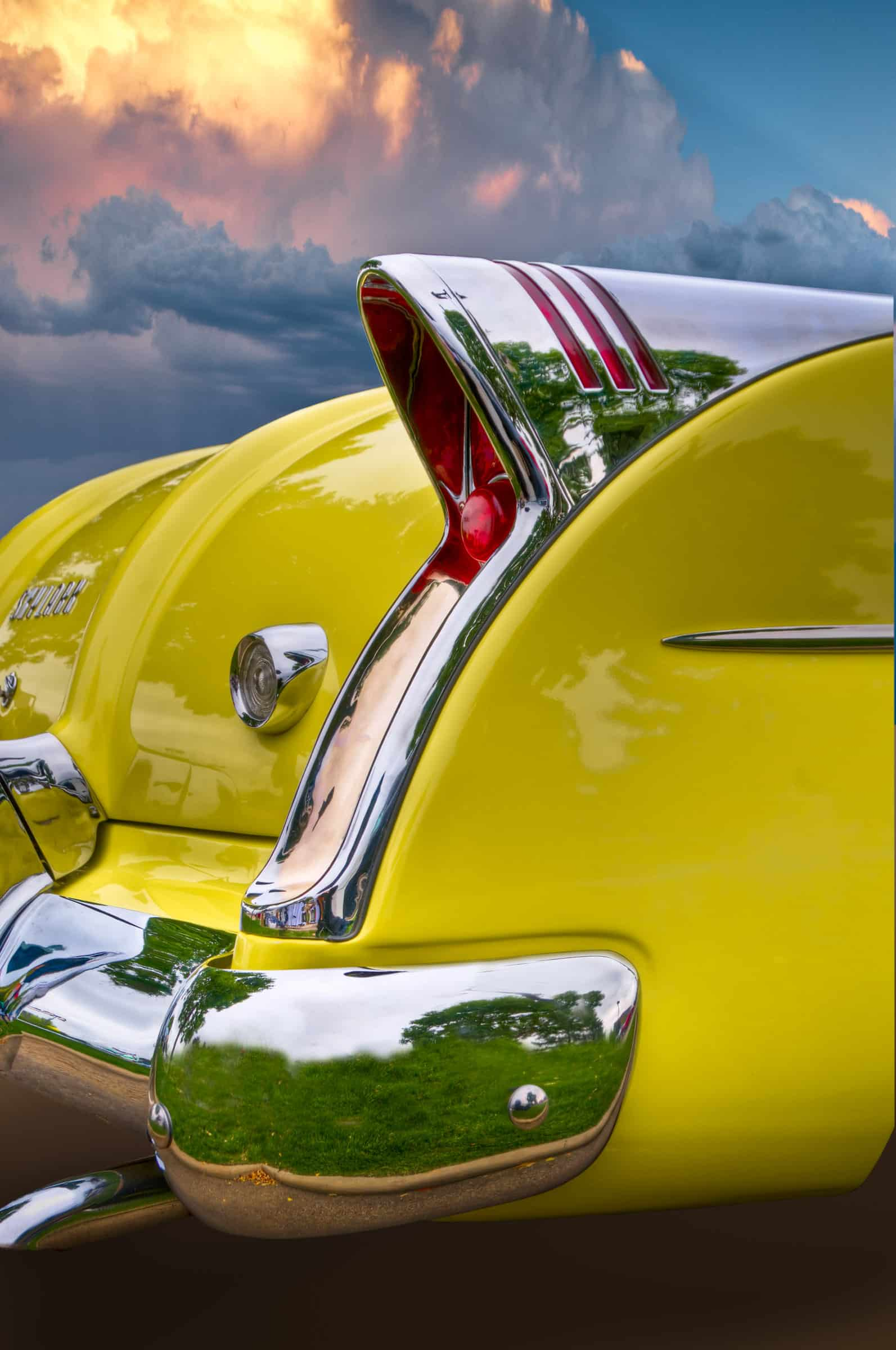 1954 Buick Skylark Sport Convertible - Yellow