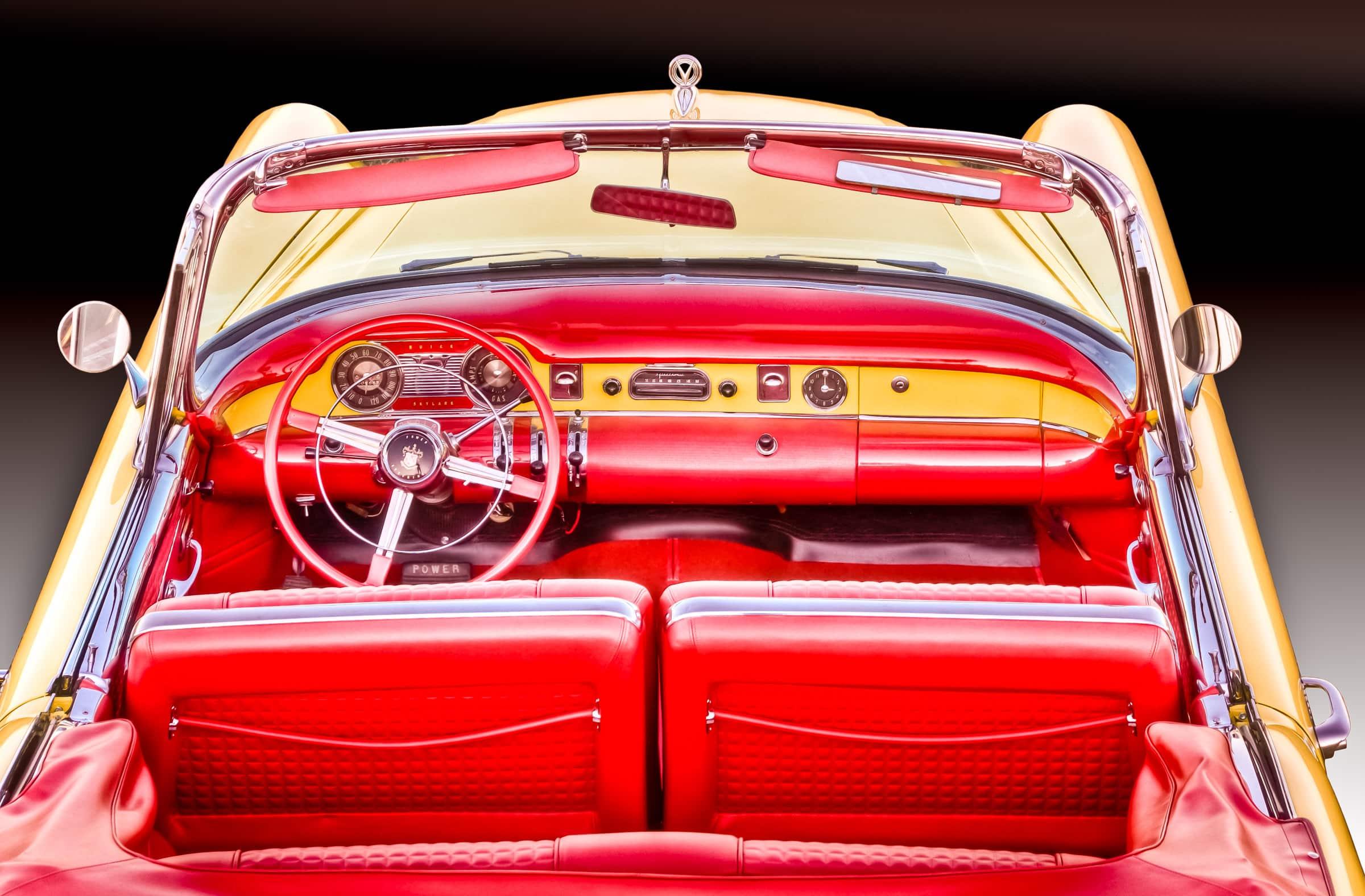 1954 Buick Skylark Sport Convertible - Yellow