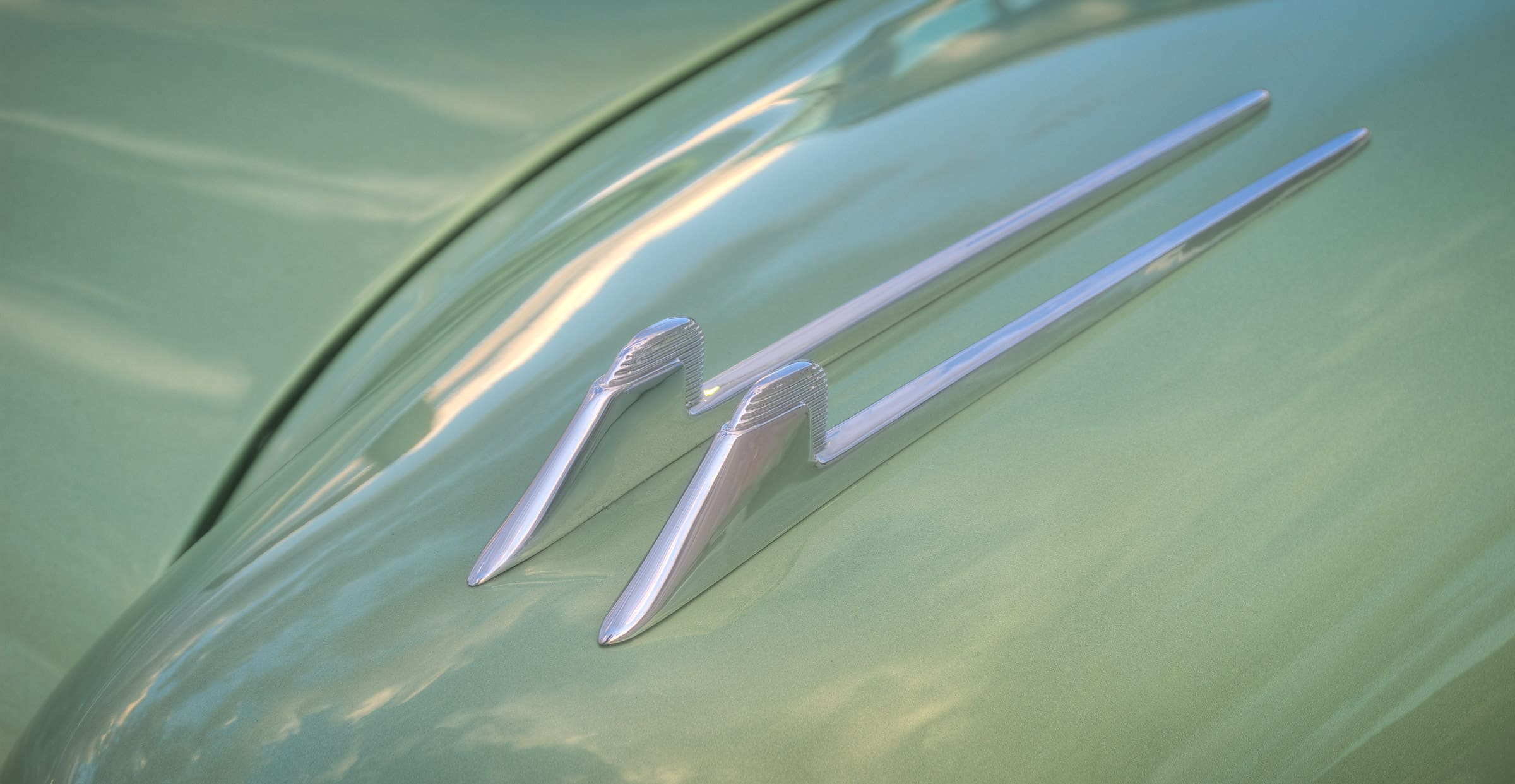 1957 Cadillac Eldorado Seville - Elysian Green