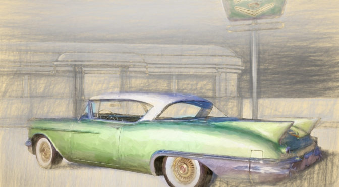 1957 Cadillac Eldorado Seville - Elysian Green - Automotive photo products