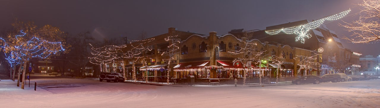 Holiday Snow Storm in Boulder