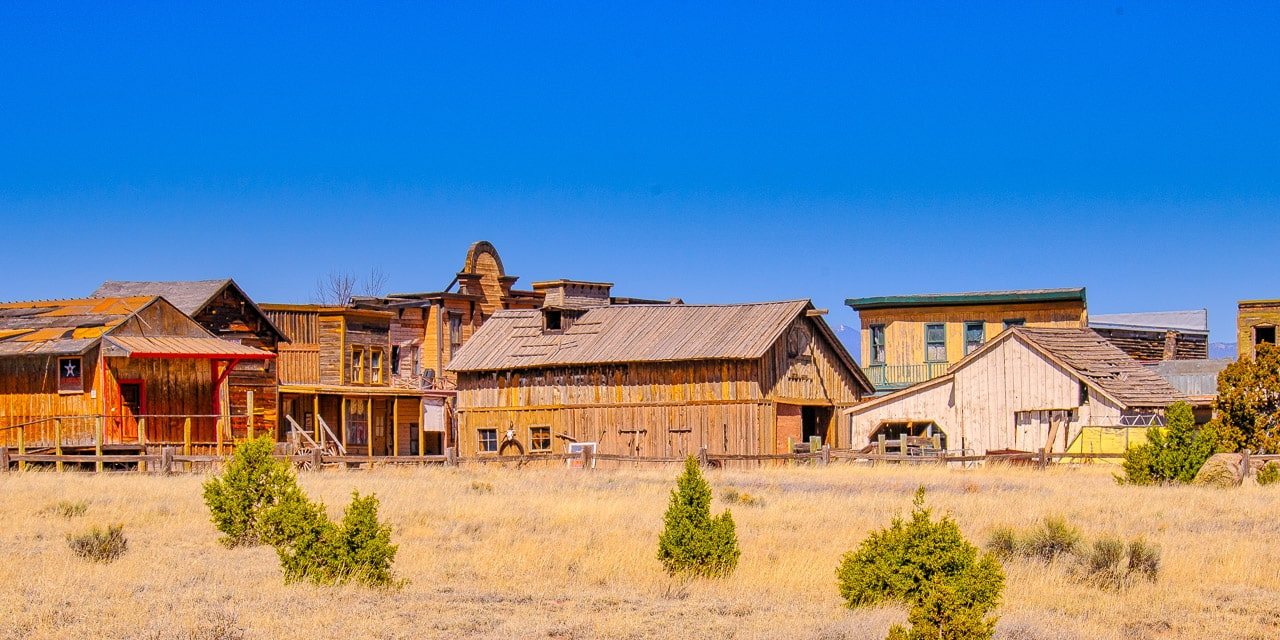 Old West ghost town?