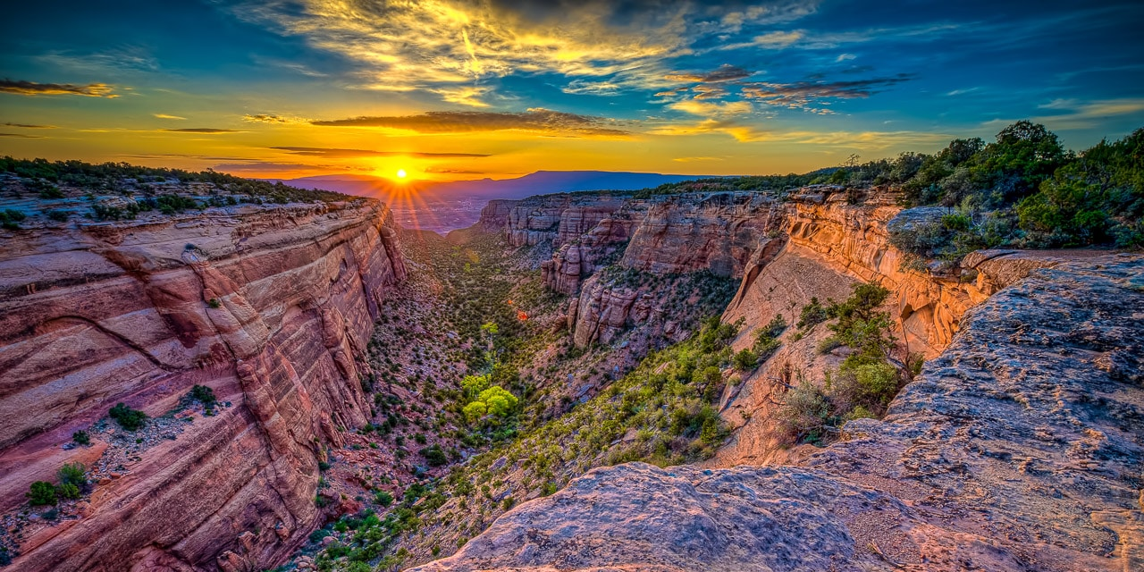 Cool, Clear Dawn in Red Canyon