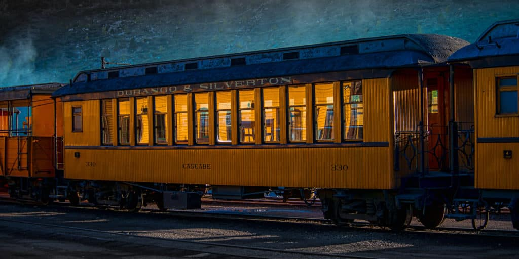 Evening at the Durango Station