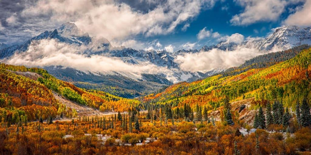 Autumn along CR 7 near Ridgway, Colorado