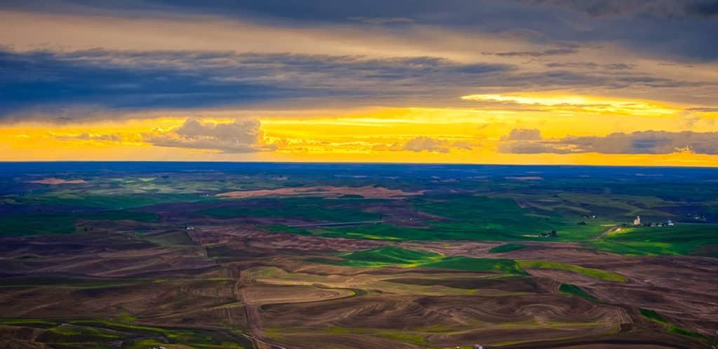 Palouse Hills from Steptoe Butte
