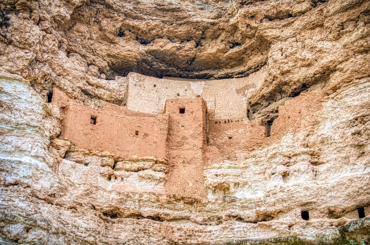 Montezuma Castle is a Sinaguan cliff dwelling near present-day Camp Verde, Arizona. It is part of Montezuma Castle National Monument.