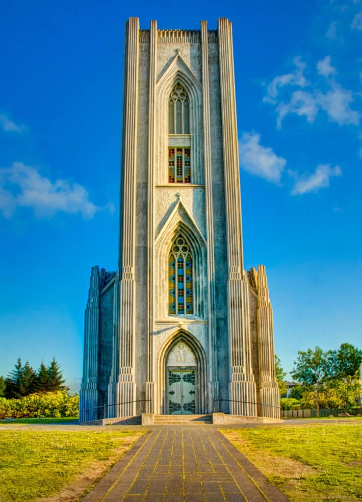 Landakotskirkja is the Catholic cathedral in Reykjavik.