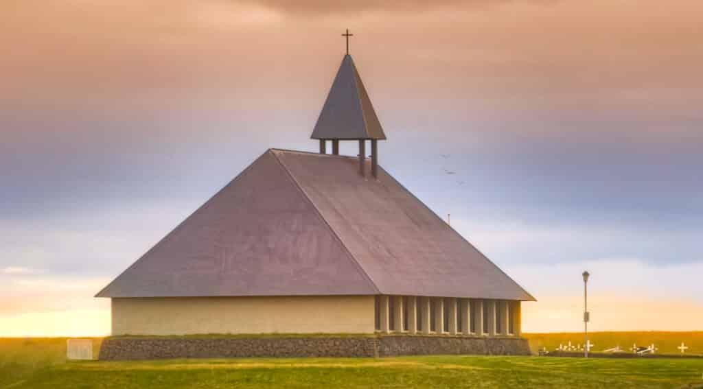 Thorlakshofn Church is a large church on the Reykjanes Peninsula.